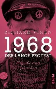 Richard Vinen: 1968 - Der lange Protest, Buch