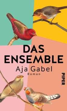 Aja Gabel: Das Ensemble, Buch