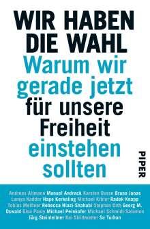 Andreas Altmann: Wir haben die Wahl, Buch