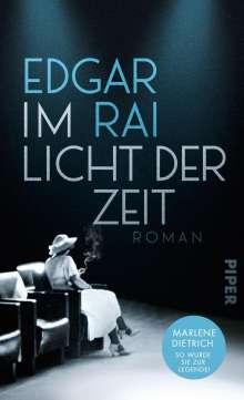 Edgar Rai: Im Licht der Zeit, Buch