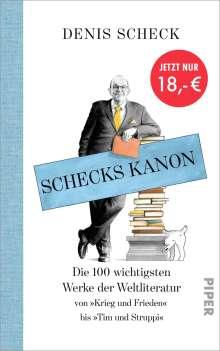 Denis Scheck: Schecks Kanon, Buch