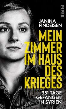 Janina Findeisen: Mein Zimmer im Haus des Krieges, Buch