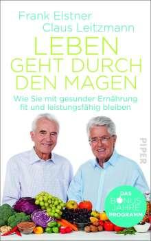 Frank Elstner: Leben geht durch den Magen, Buch
