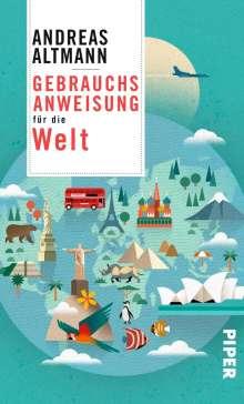 Andreas Altmann: Gebrauchsanweisung für die Welt, Buch