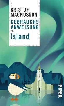 Kristof Magnusson: Gebrauchsanweisung für Island, Buch