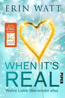 Erin Watt: When it's Real - Wahre Liebe überwindet alles, Buch