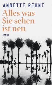 Annette Pehnt: Alles was Sie sehen ist neu, Buch