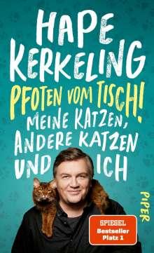 Hape Kerkeling: Pfoten vom Tisch!, Buch