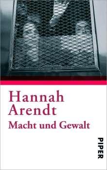 Hannah Arendt: Macht und Gewalt, Buch