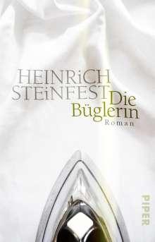 Heinrich Steinfest: Die Büglerin, Buch