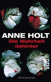 Anne Holt: Die Wahrheit dahinter, Buch