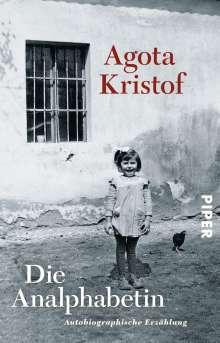 Agota Kristof: Die Analphabetin, Buch