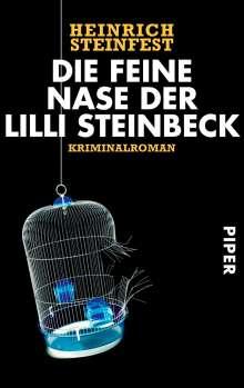 Heinrich Steinfest: Die feine Nase der Lilli Steinbeck, Buch