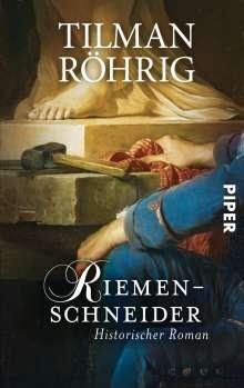 Tilman Röhrig: Riemenschneider, Buch