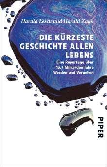 Harald Lesch: Die kürzeste Geschichte allen Lebens, Buch