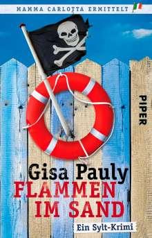 Gisa Pauly: Flammen im Sand, Buch