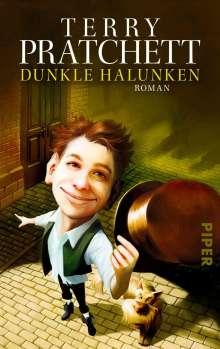 Terry Pratchett: Dunkle Halunken, Buch