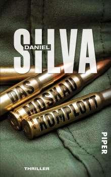 Daniel Silva: Das Moskau-Komplott, Buch