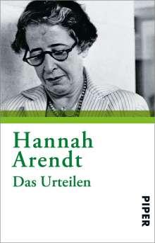 Hannah Arendt: Das Urteilen, Buch