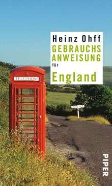 Heinz Ohff: Gebrauchsanweisung für England, Buch