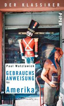 Paul Watzlawick: Gebrauchsanweisung für Amerika, Buch