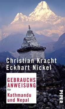 Christian Kracht: Gebrauchsanweisung für Kathmandu und Nepal, Buch