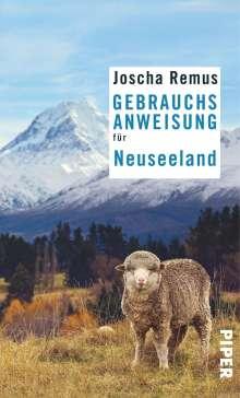 Joscha Remus: Gebrauchsanweisung für Neuseeland, Buch