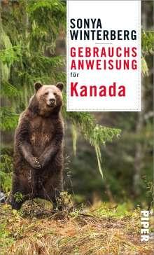 Sonya Winterberg: Gebrauchsanweisung für Kanada, Buch