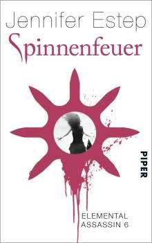 Jennifer Estep: Spinnenfeuer, Buch