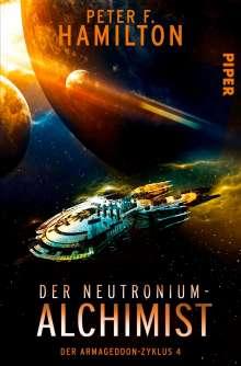 Peter F. Hamilton: Der Neutronium-Alchimist, Buch