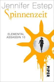 Jennifer Estep: Spinnenzeit, Buch