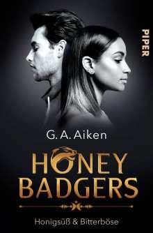 G. A. Aiken: Honey Badgers, Buch