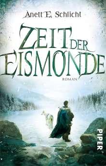 Anett E. Schlicht: Zeit der Eismonde, Buch