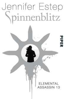Jennifer Estep: Spinnenblitz, Buch