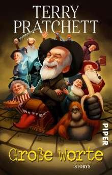 Terry Pratchett: Große Worte, Buch