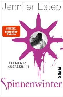 Jennifer Estep: Spinnenwinter, Buch