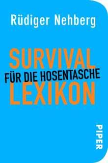 Rüdiger Nehberg: Survival-Lexikon für die Hosentasche, Buch