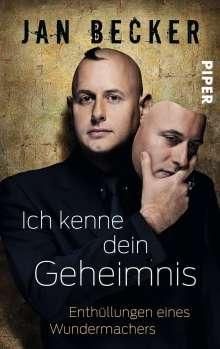 Jan Becker: Ich kenne dein Geheimnis, Buch