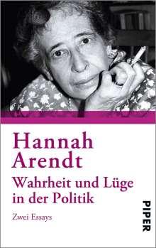 Hannah Arendt: Wahrheit und Lüge in der Politik, Buch