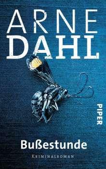 Arne Dahl: Bußestunde, Buch
