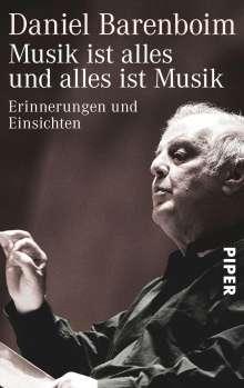 Daniel Barenboim: Musik ist alles und alles ist Musik, Buch