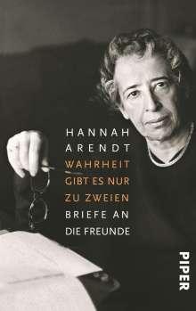 Hannah Arendt: Wahrheit gibt es nur zu zweien, Buch