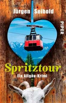 Jürgen Seibold: Spritztour, Buch