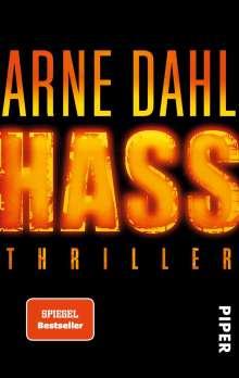 Arne Dahl: Hass, Buch