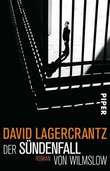 David Lagercrantz: Der Sündenfall von Wilmslow, Buch