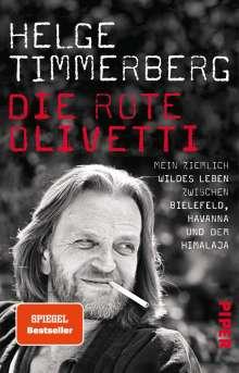 Helge Timmerberg: Die rote Olivetti, Buch