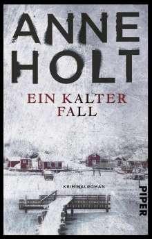 Anne Holt: Ein kalter Fall, Buch