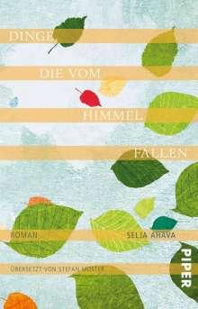 Selja Ahava: Dinge, die vom Himmel fallen, Buch