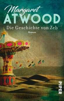 Margaret Atwood (geb. 1939): Die Geschichte von Zeb, Buch