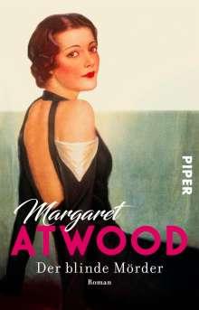 Margaret Atwood (geb. 1939): Der blinde Mörder, Buch